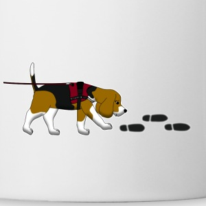 search beagle Kids' Shirts - Coffee/Tea Mug