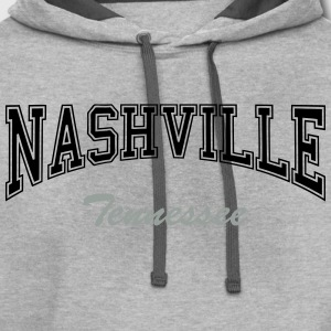 Nashville tennessee T-Shirts - Contrast Hoodie