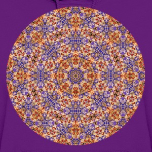 Purple and Gold Mandala  Women's T-Shirts - Women's Hoodie