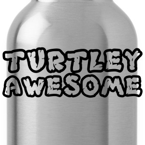 Turtley Awesome Outline Shirt T-Shirts - Water Bottle