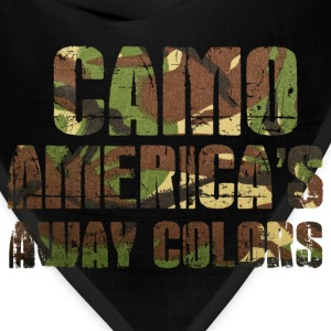 camo americas away colors - Bandana
