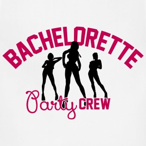 Bachelorette Party Crew Women's T-Shirts - Adjustable Apron