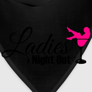 Ladies night out Women's T-Shirts - Bandana