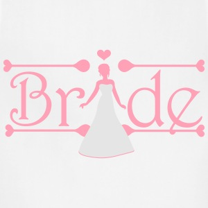 Bride Women's T-Shirts - Adjustable Apron