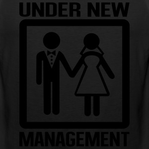 Under new management T-Shirts - Men's Premium Tank