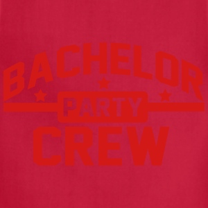 Bachelor Party Crew T-Shirts - Adjustable Apron