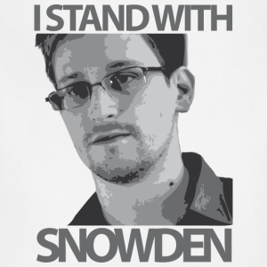 Edward Snowden T-Shirts - Adjustable Apron
