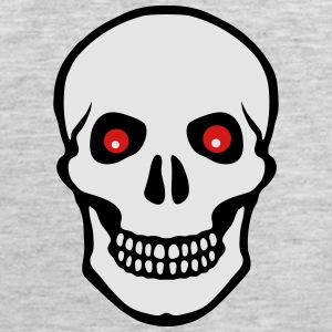 skull and read eyes Hoodies - Men's Premium Tank
