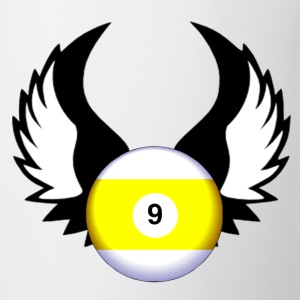 9 Ball with Wings - Coffee/Tea Mug