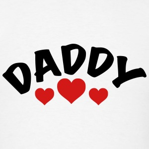 Daddy / i love my dad / father 2c Hoodies - Men's T-Shirt