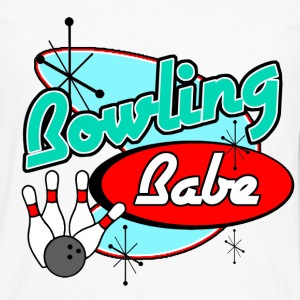 Bowling Babe - Men's Premium Long Sleeve T-Shirt