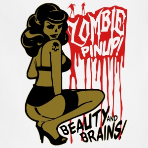 Zombie Pin Up T-Shirts - Adjustable Apron