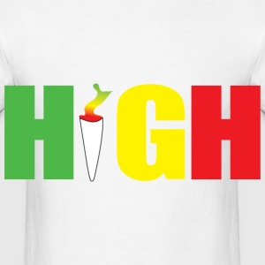 High  - Men's T-Shirt