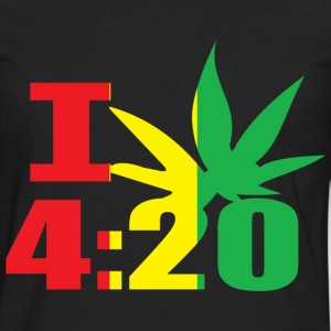I Smoke 4:20 - Men's Premium Long Sleeve T-Shirt