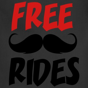 Free Moustache Rides - Adjustable Apron