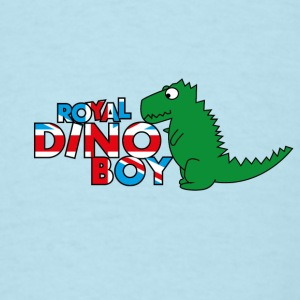 Royal Baby: Royal Dino Baby Baby & Toddler Shirts - Men's T-Shirt