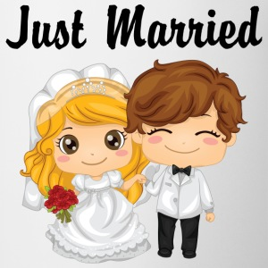 Just Married T-Shirt - Coffee/Tea Mug