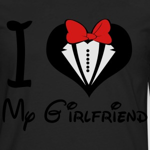 I LOVE My GirlFriend (M) - Men's Premium Long Sleeve T-Shirt