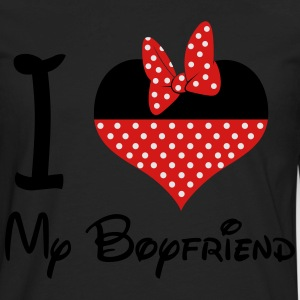 I LOVE My BoyFriend (M) - Men's Premium Long Sleeve T-Shirt