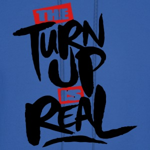 the turn up is real Tanks - Men's Hoodie