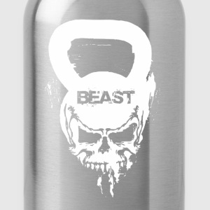 Funny Gym Shirt - Beast Fitness - Water Bottle