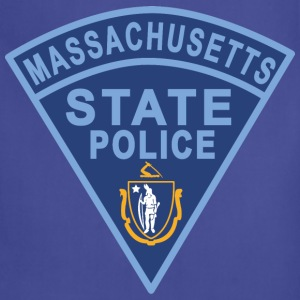 Massachusetts State Police Patch T-Shirts - Adjustable Apron