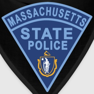 Massachusetts State Police Patch T-Shirts - Bandana