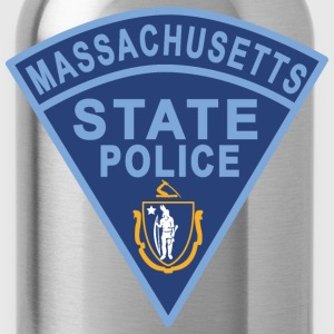 Massachusetts State Police Patch T-Shirts - Water Bottle