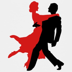 Dancers - Dancing - Couple - Tango - Date Kids' Shirts - Toddler Premium T-Shirt
