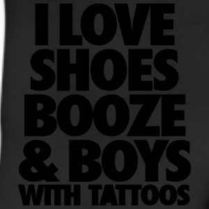 I Love Shoes Booze And Boys With Tattoos Women's T-Shirts - Leggings