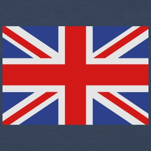 union jack english flag Hoodies - Men's Premium Long Sleeve T-Shirt