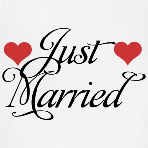 Just Married T-Shirt - Adjustable Apron