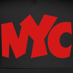 NYC T-Shirt (Women/Red) - Trucker Cap