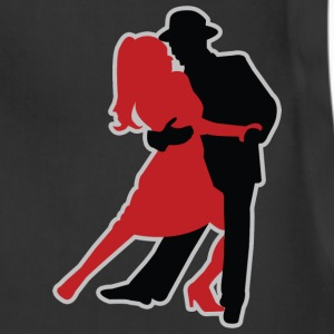 Dancers - Dancing - Couple - Tango - Date T-Shirts - Adjustable Apron