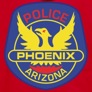 Phoenix Police - Unisex Fleece Zip Hoodie by American Apparel