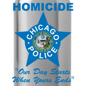 Chicago Police Homicide - Water Bottle