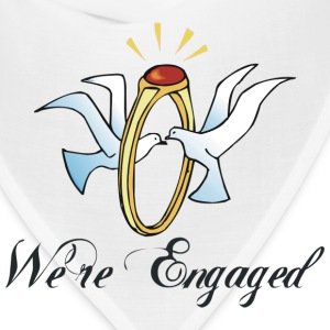 Engagement We're Engaged T-Shirt - Bandana