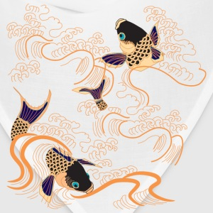 Koi Fish - Japan - Japanese - Tattoo - Art Kids' Shirts - Bandana