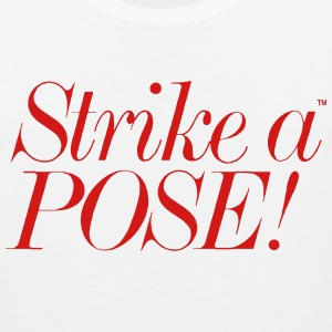 STRIKE A POSE Women's T-Shirts - Men's Premium Tank