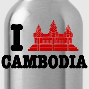 I Angkor (Love) Cambodia Women's T-Shirts - Water Bottle