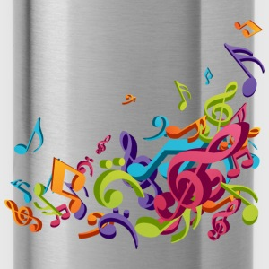 Music - Musician - Band - Music Notes - Musical Kids' Shirts - Water Bottle