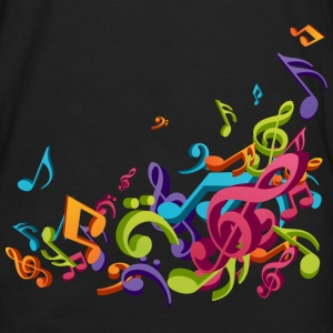 Music - Musician - Band - Music Notes - Musical Kids' Shirts - Men's Premium Long Sleeve T-Shirt