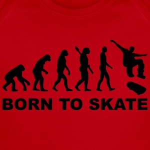 Evolution Skateboard Kids' Shirts - Short Sleeve Baby Bodysuit