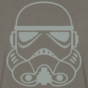 stormtrooper helmet 1_ T-Shirts - Men's Premium Long Sleeve T-Shirt