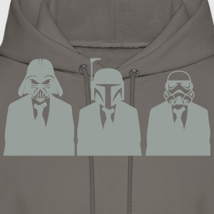vader, fett, & stormtrooper in suits 1_ T-Shirts - Men's Hoodie