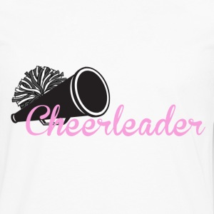 Cheerleader with megaphone - Men's Premium Long Sleeve T-Shirt
