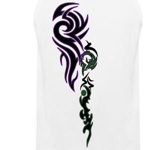 tatoo_rose Long Sleeve Shirts - Men's Premium Tank