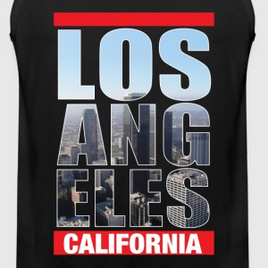 Los Angeles California - Men's Premium Tank