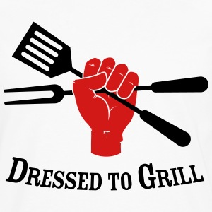 Dressed to Grill - Men's Premium Long Sleeve T-Shirt