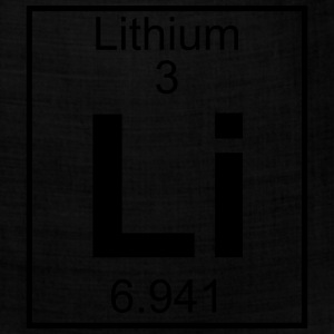 Element 3 - Li (lithium) - Full T-Shirts - Bandana